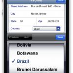 Tourzilla - Profile Screen : Agent address update – Real Estate Video Tour Solution