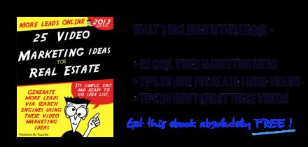 25 Guerrilla Video Marketing Ideas for real estate